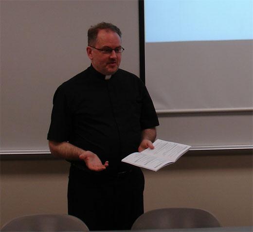 Mark Morley moderating SPT2011 panel UNT