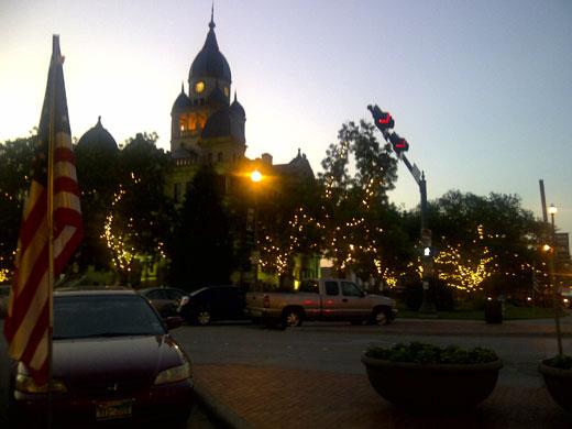 Town Square, Denton, Texas